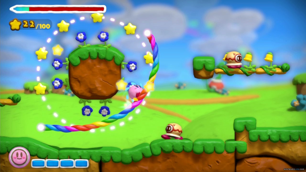 Kirby And The Rainbow Curse For Wii U Releases In North America On 13th February - Nintendo Life