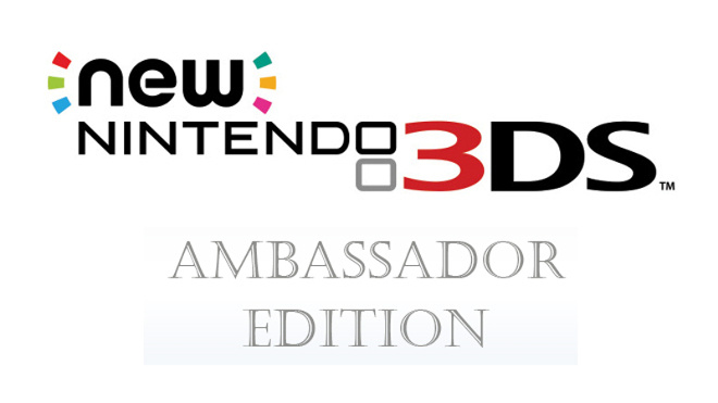 Nintendo Europe Shipping Ambassador Edition New Nintendo