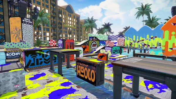 Mahi Mahi Resort Map Arrives in Splatoon on 3rd December