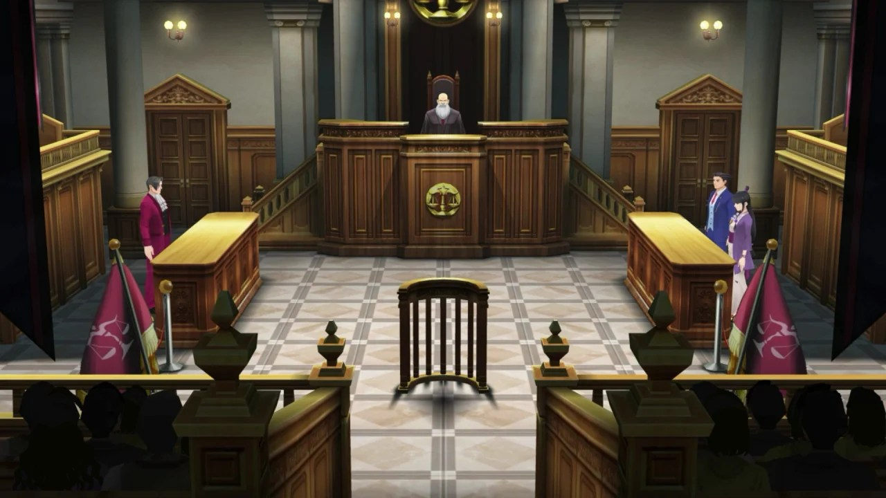 Video Court Is In Session For Ten Minutes Of Phoenix Wright Ace Attorney  Spirit of Justice