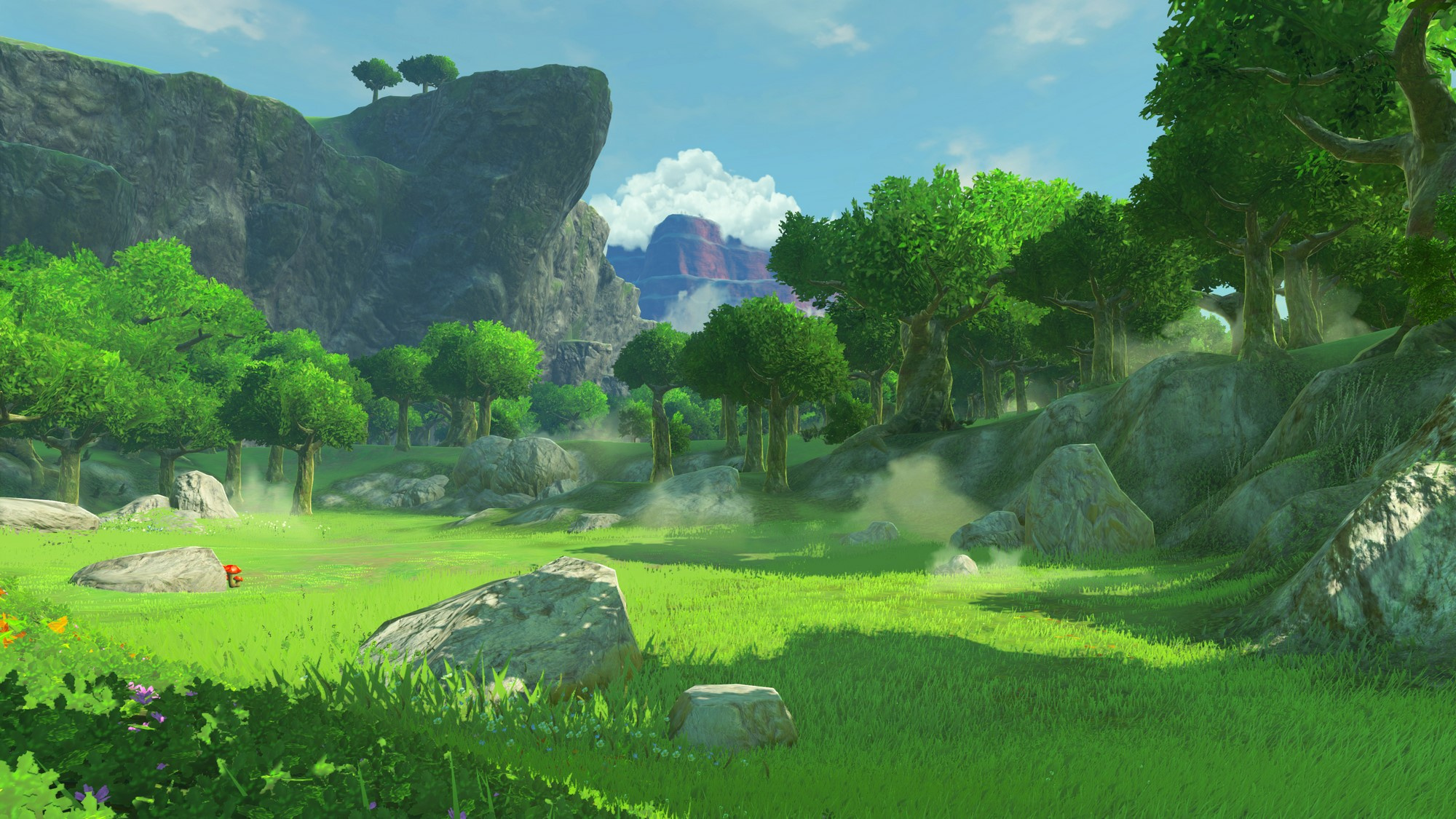 Gallery The Artwork In Legend Of Zelda Breath Of The