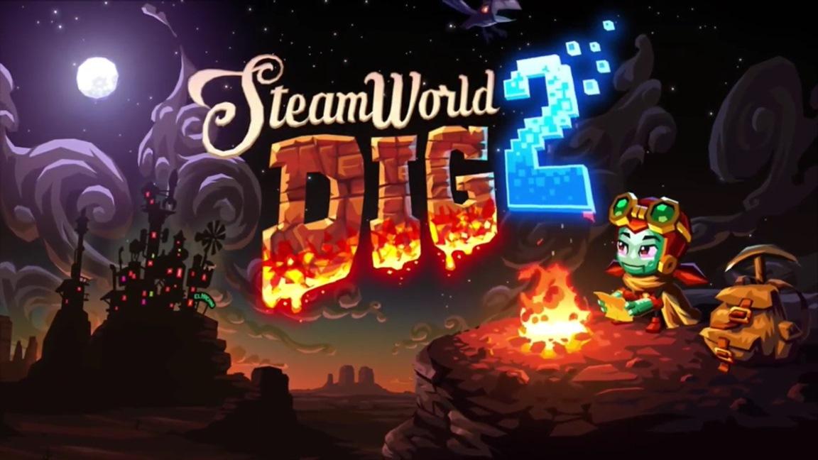 2 Nintendo World Dig Steam Switch