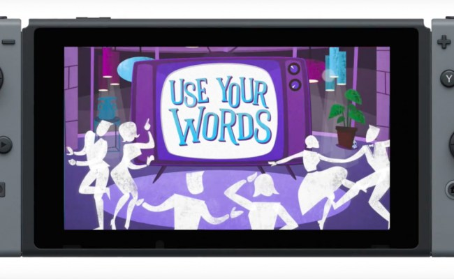Party Game Use Your Words Is Coming To Nintendo Switch