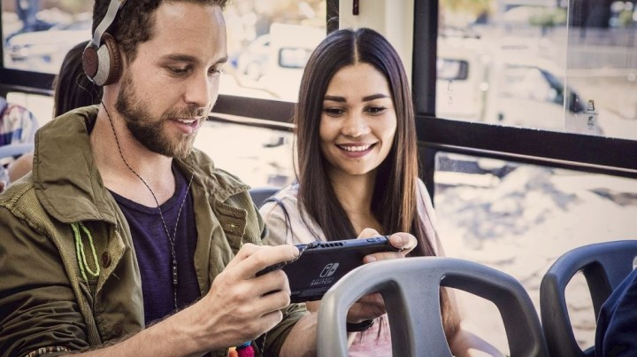 The Nintendo Switch - guaranteed to help you meet your future soulmate on the bus