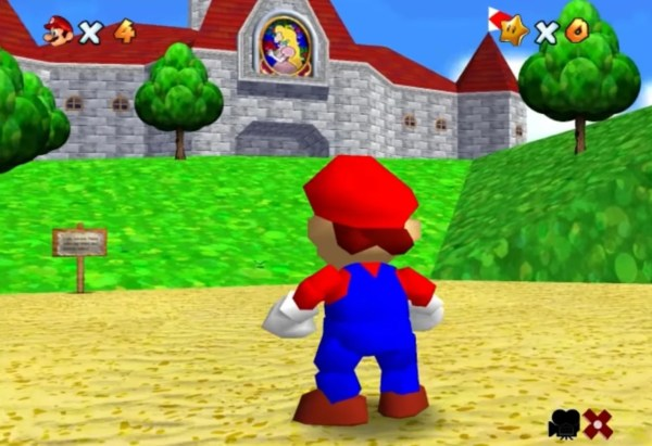 Super Mario 64 - Year of Clean Water