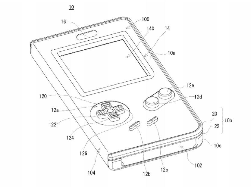 Flipboard: Nintendo Files Patent For Game Boy Case