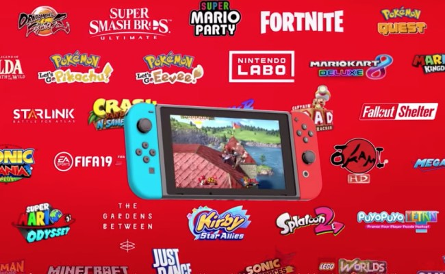 Video New Nintendo Switch Trailer Celebrates The Console