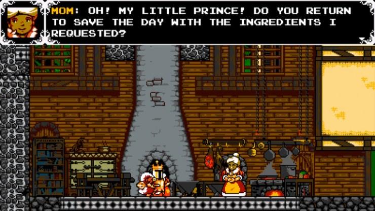 Shovel Knight: King Of Cards Review - Captura de pantalla 4 de 5