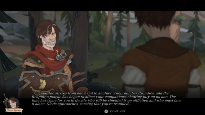 Ash of Gods: Redemption Review - Screenshot 3 of 5