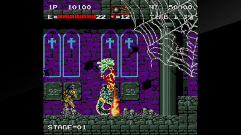 Arcade Archives Haunted Castle Review - Screenshot 2 of 5