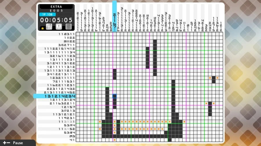Picross S6 Review - Screenshot 1 of 6