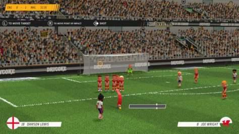 Super Soccer Blast: America VS Europe Review - Screenshot 1 of 6