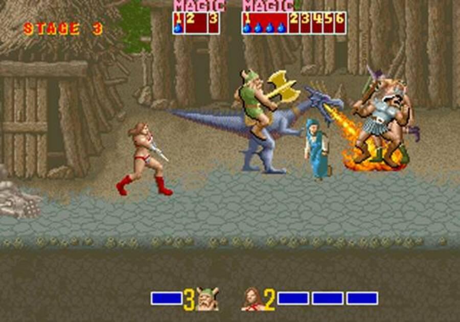 Golden Axe VC Arcade Virtual Console Arcade Screenshots