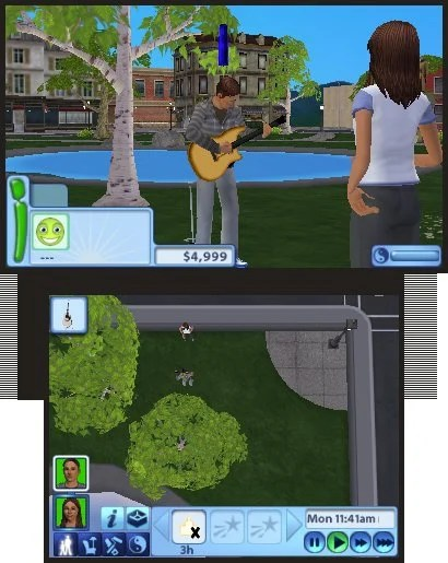 Sims 3 Ds : Review, (3DS), Nintendo
