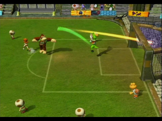 Mario Smash Football GCN GameCube Screenshots