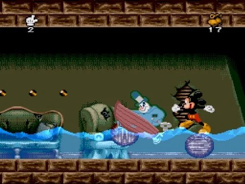 Mickey Mania SNES Super Nintendo Screenshots