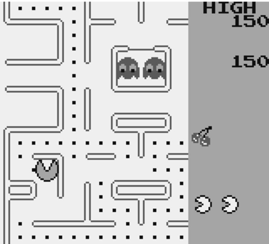 Pac-Man (GB / Game Boy) Screenshots