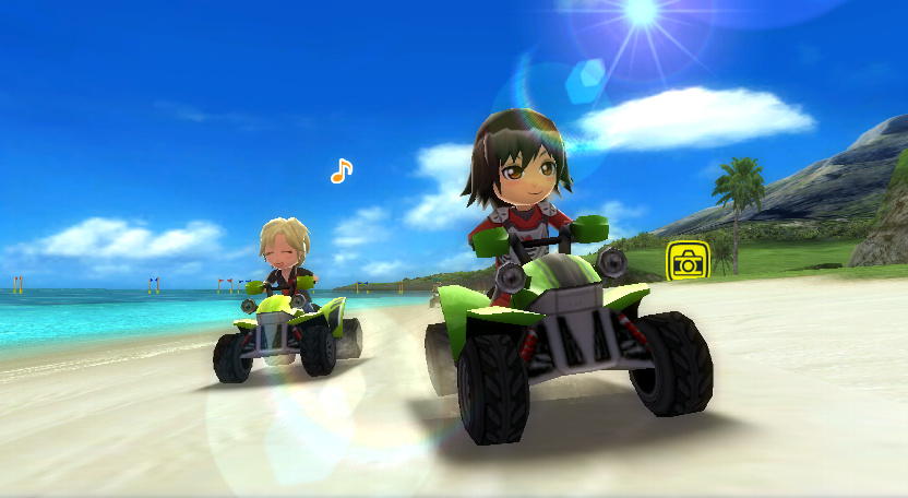 Go Vacation Wii Screenshots