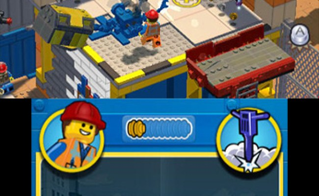 The Lego Movie Videogame 3ds News Reviews Trailer
