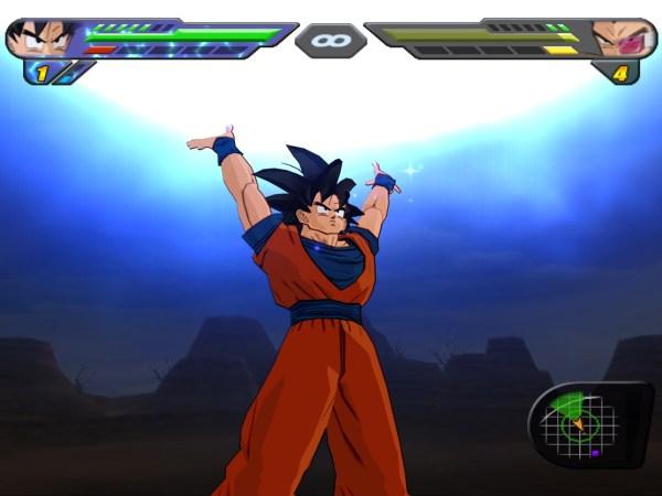 Dragon Ball Budokai Tenkaichi 2 Wii