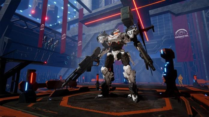 Review of Daemon X Machina - Screenshot 1 of 7