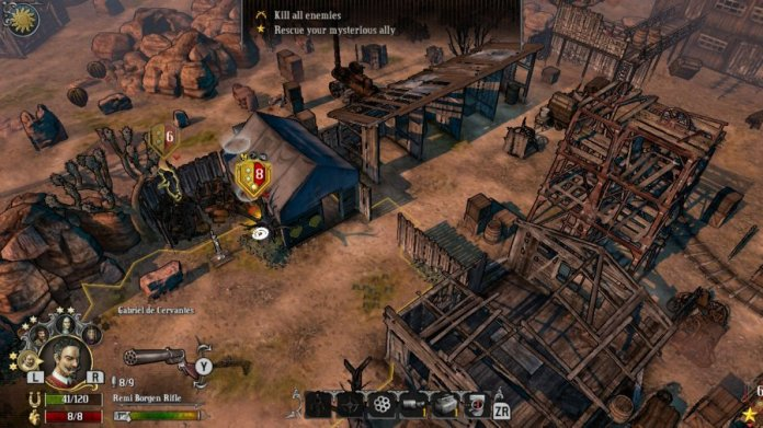 Hard West Review - Screenshot 3 of 4