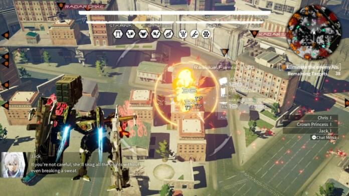 Review of Daemon X Machina - Screenshot 2 of 7