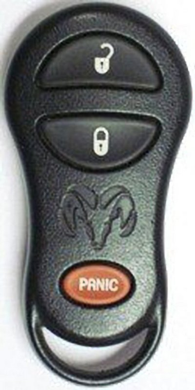1999 Dodge Ram Truck Keyless Entry Remote Used 56045497