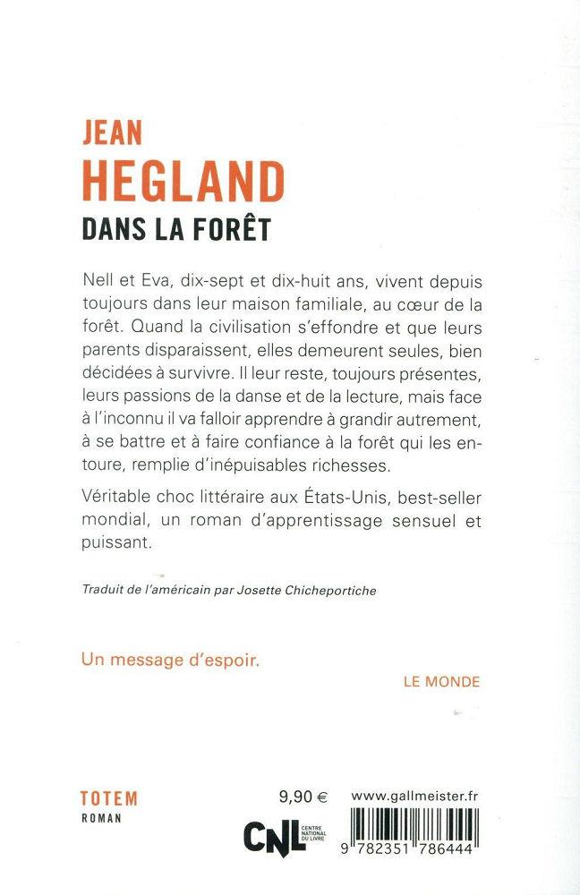 Dans La Foret Jean Hegland : foret, hegland, Forêt, HEGLAND, Fiche, Livre, Critiques, Adaptations, NooSFere