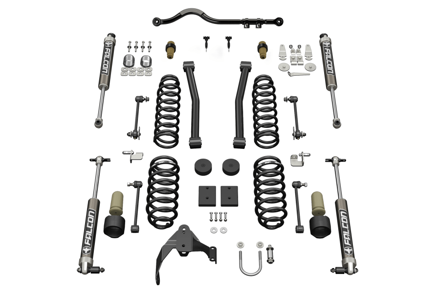 Jeep JK 4Dr Teraflex 25in Sport ST2 Suspension System w 21