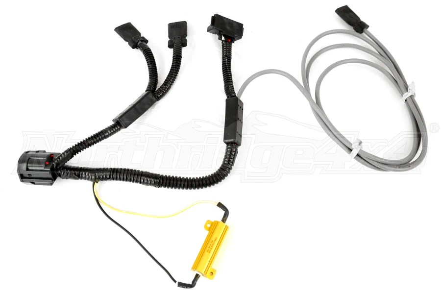 Jeep JK Poison Spyder LED Tail Light Harness Passenger