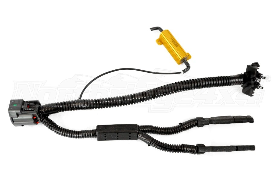 Jeep JK Poison Spyder LED Taillight Harness System Drivers