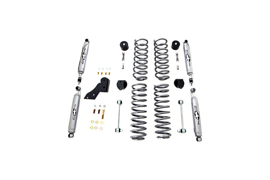 Jeep JK 4DR Rubicon Express 25in Standard Coil Lift Kit