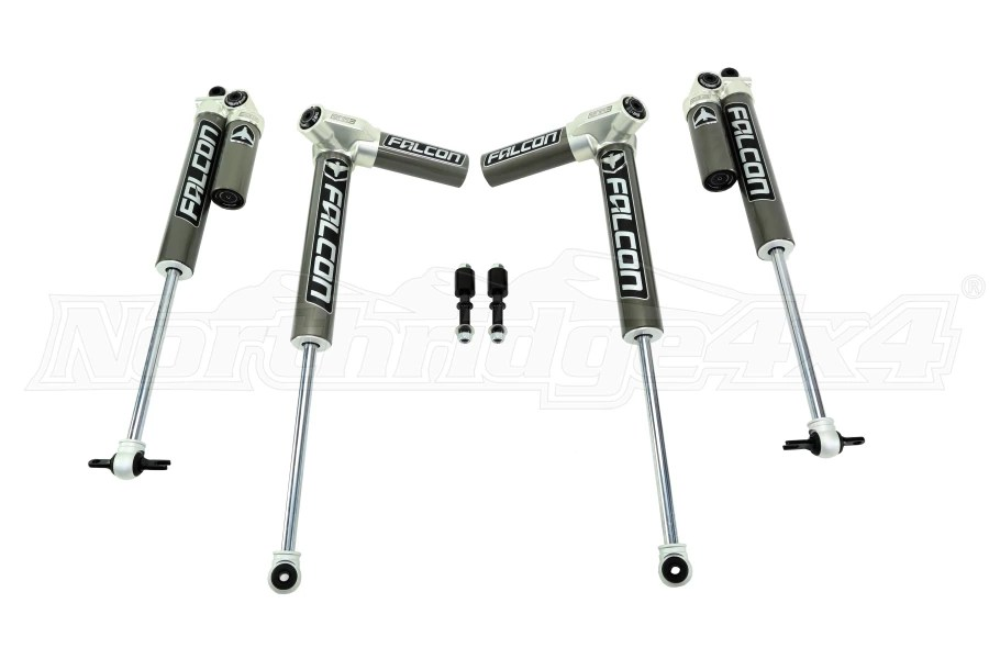 Jeep JK 4DR Teraflex Falcon Series 31 Piggyback Shocks