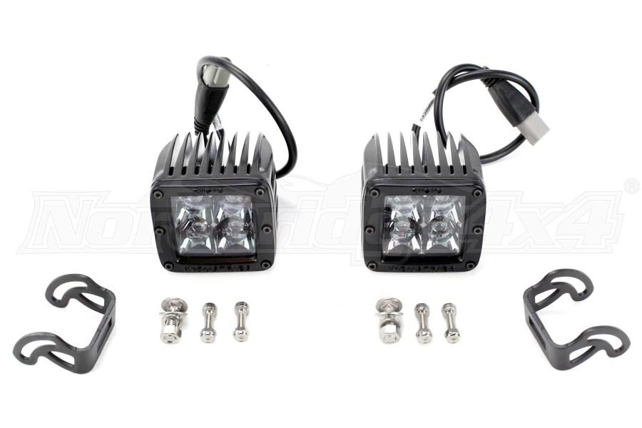 Rigid Industries DSeries Midnight Edition Lights Spot Pair