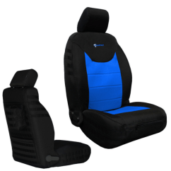 Jeep Desk Chair Cheap Patio Lounge Chairs Jk 2013 Bartact Supreme Seat Cover Front Pair Rubicon Part Number Jks2013fpbu