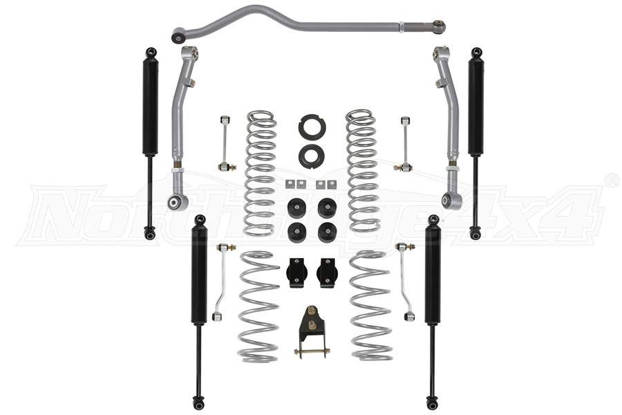 Jeep JL 4Dr Rubicon Express 3545in Standard Coil Lift Kit