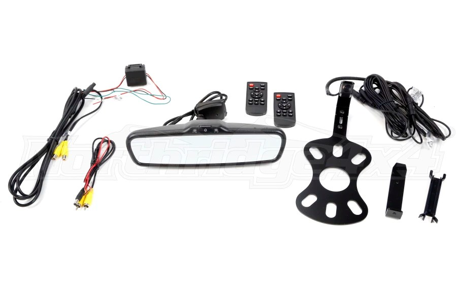 Jeep JK BrandMotion Adjustable Rear Vision System w Mirror