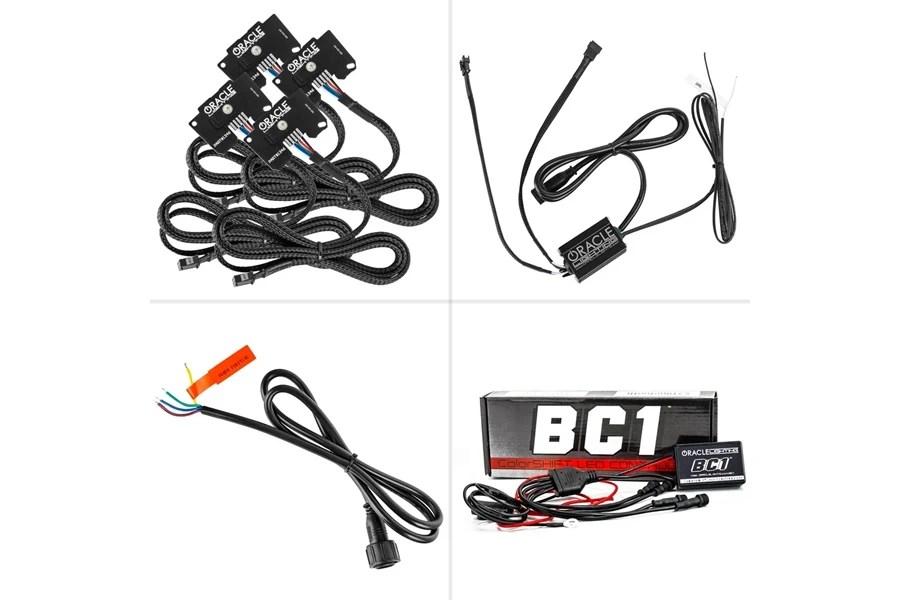 Jeep JL Oracle ColorSHIFT RGBW Headlight DRL Upgrade BC1