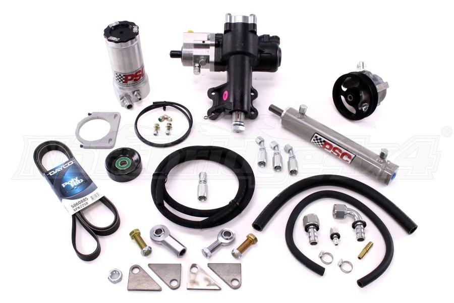 Jeep JK 4DR PSC Hydraulic Cylinder Assist Kit W