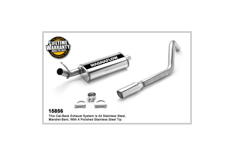 Jeep XJ Magnaflow Stainless CatBack System Performance