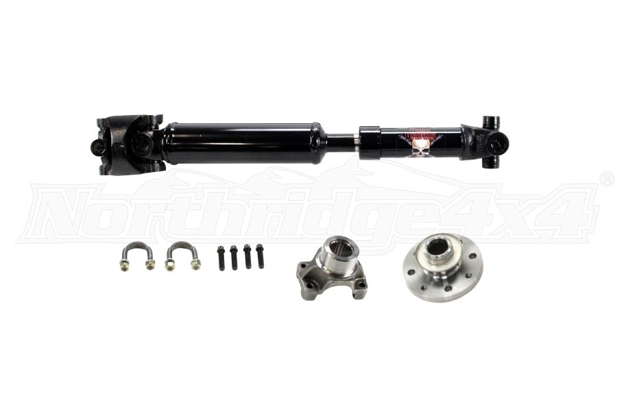 Jeep JK 2dr Adams Driveshaft Extreme Duty Rear Solid 1350
