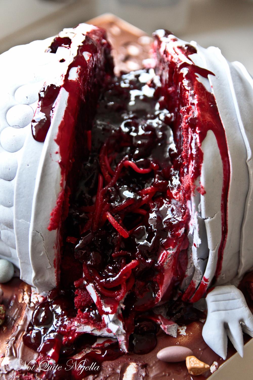 Armadillo Cake Road Kill Not Quite Nigella