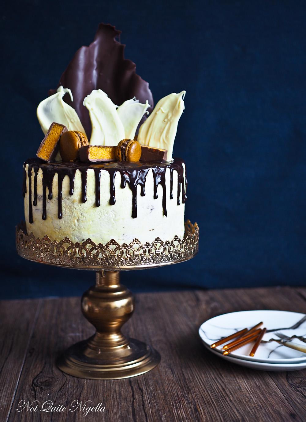 Chocolate Ganache Drip Cake Not Quite Nigella