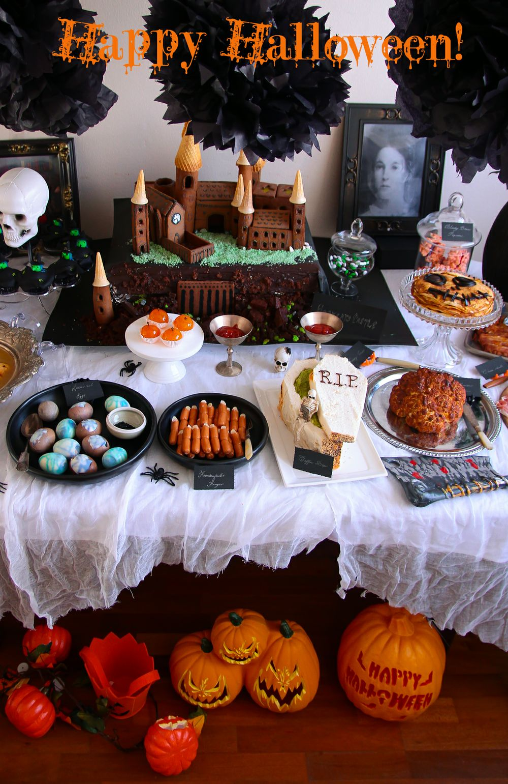 Halloween Party Food @ Not Quite Nigella