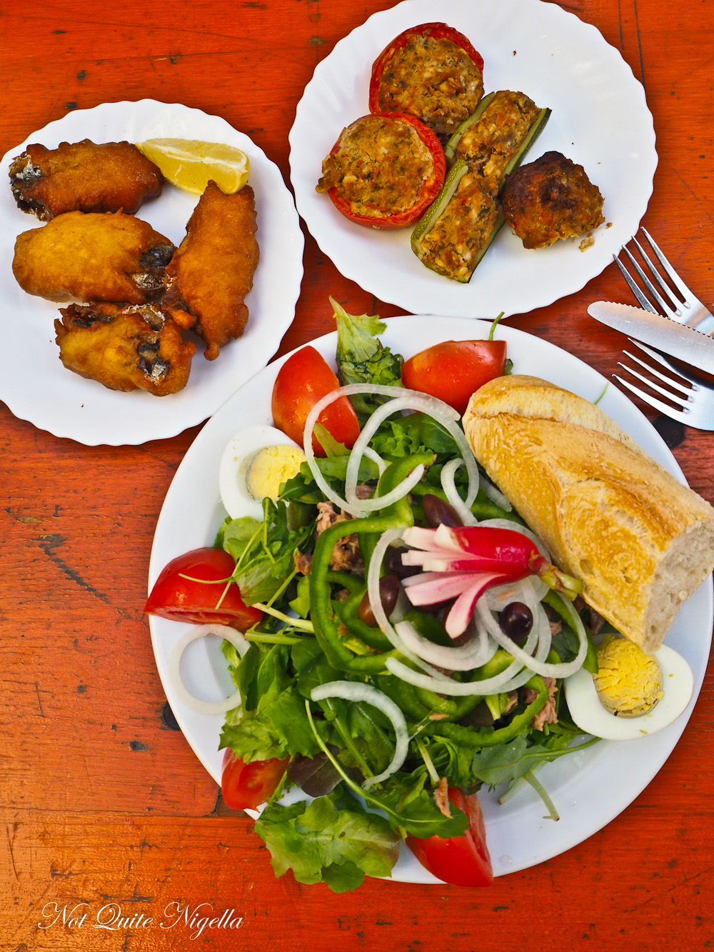 Popular Nicoise Nice France Food @ Not Quite Nigella