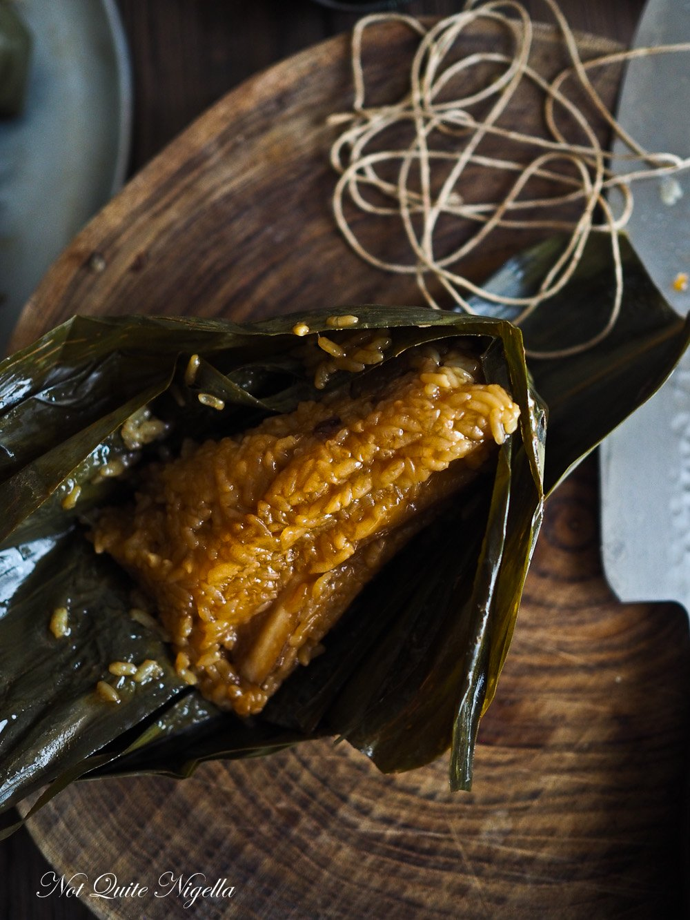 Zongzi Chinese Bamboo Leaf Dumplings  Not Quite Nigella