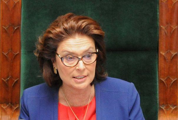 Malgorzata Kidawa-Blonska is de nieuwe kandidaat-premier van de belangrijkste oppositiepartij in Polen, PO.