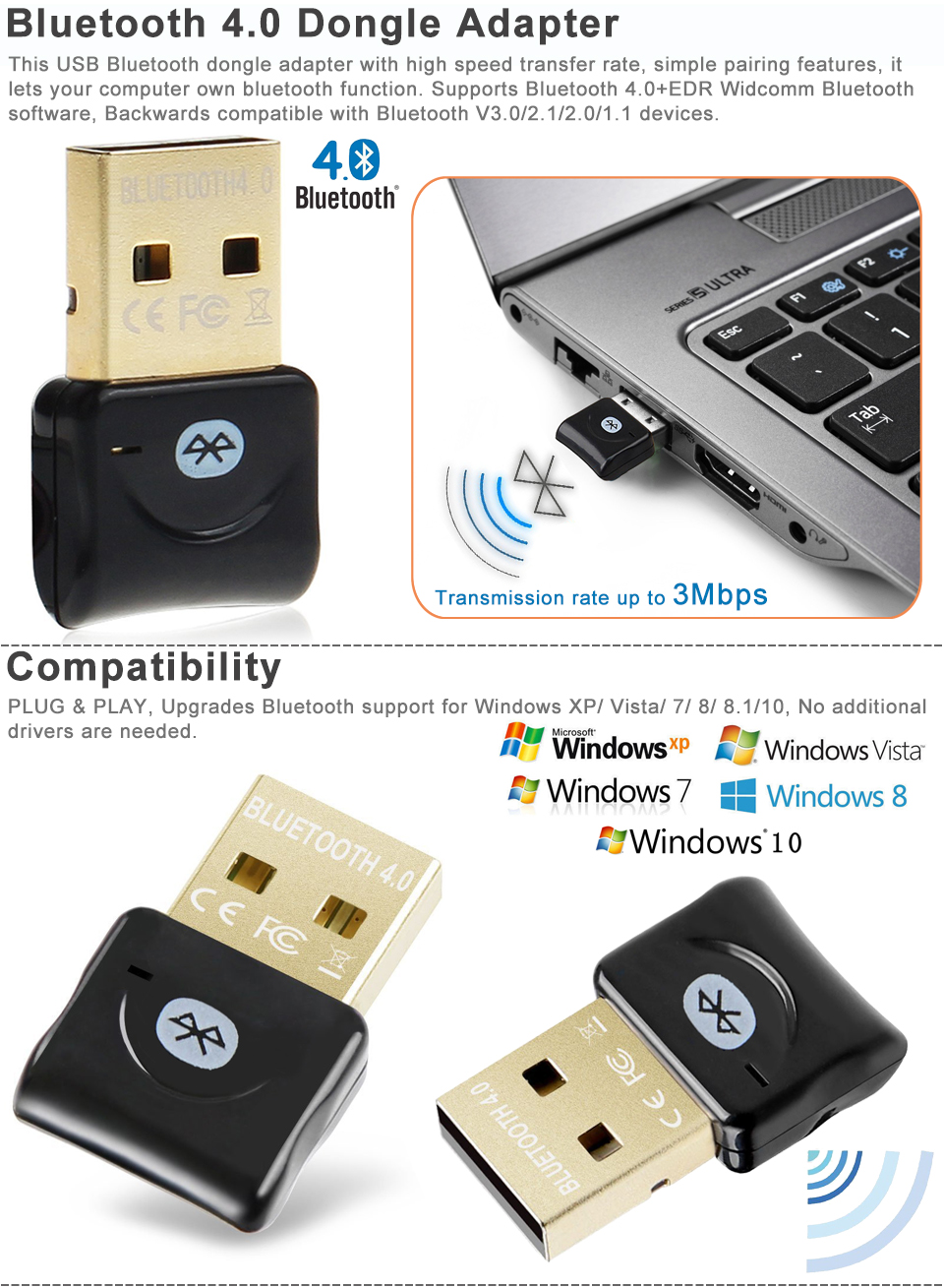 Blue Tooth Adapter Computer