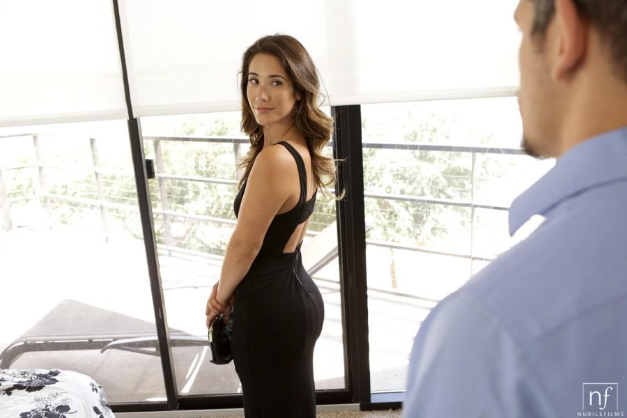 NubileFilms.com - Bambino,Eva Lovia: Little Black Dress - S26:E12